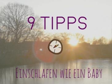 9 Tipps für besseren Schlaf