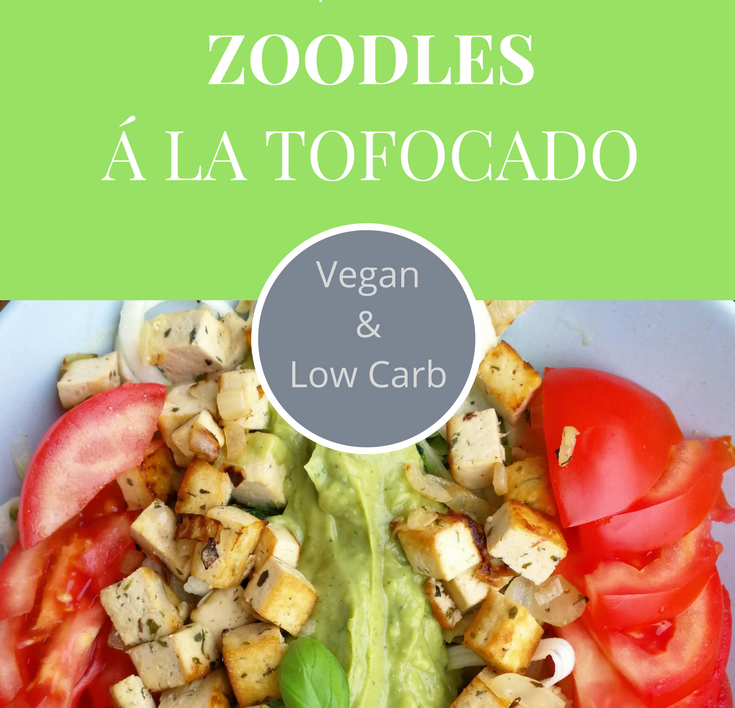 Dieses Rezept ist für alle die wenig Zeit zum Kochen haben! Zoodles mit Tofu & Avocado - alles Tofocado?